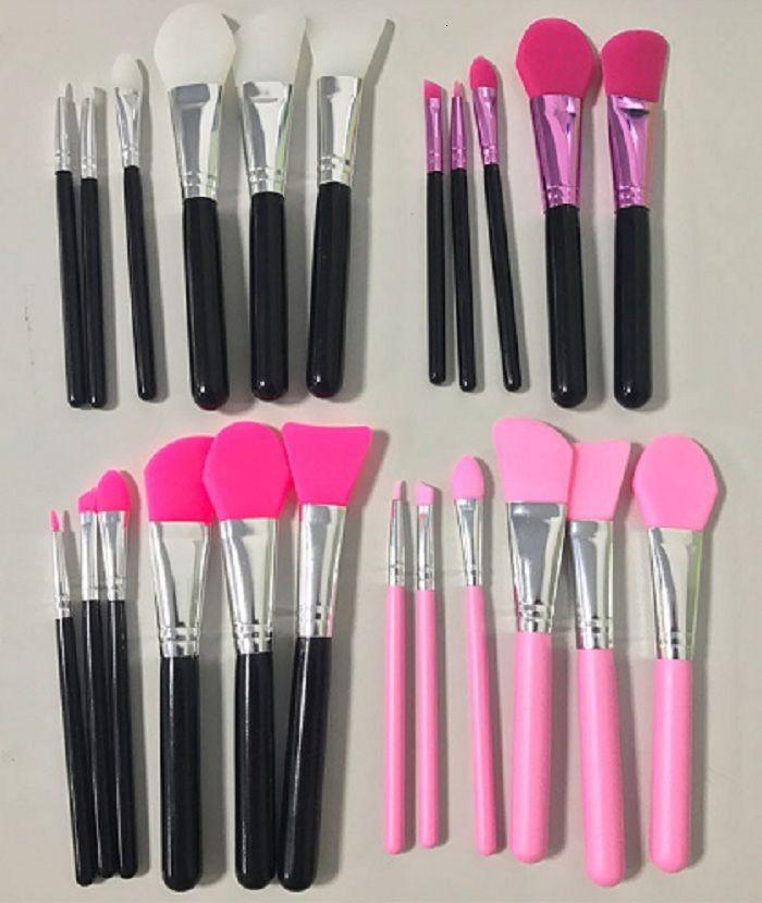 silicone brosse Blush 6 pcs par set