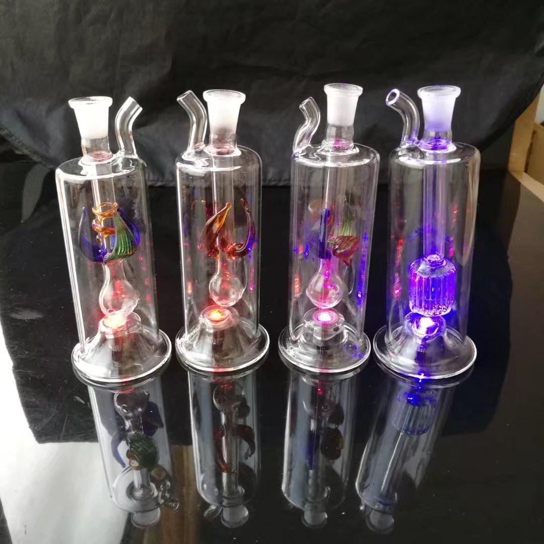 Las mangueras de flores múltiples de alta calidad no envían electrones, la venta al por mayor de vidrio bongs Quemador de aceite Tubos de vidrio Tubos de agua Plataformas petroleras Fumar libre Shi