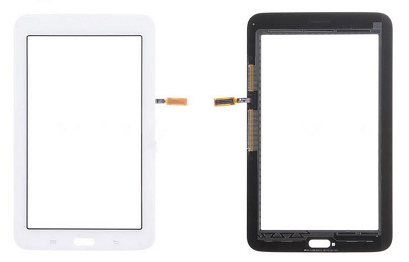 Touchscreen Digitizer Glass Panel Front Glass Lens Sensor per Samsung T110 T113 T115 Galaxy Tab 3 Lite 7.0 con logo