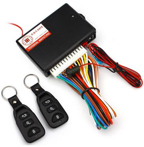 Carro Universal Remoto Kit Central de Bloqueio Da Porta Do Veículo Keyless Entry System Car Styling Acessórios