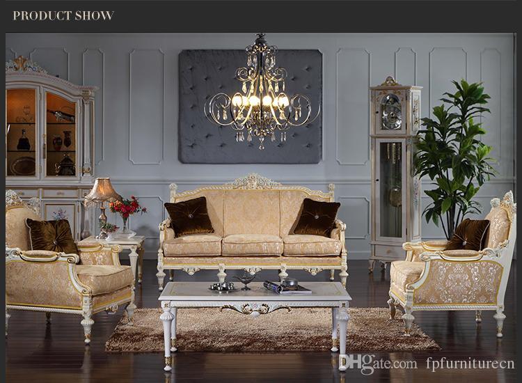 Acquista Mobili Antichi In Stile Barocco Set Da Soggiorno Di Versailles  Divano Europeo Arredo Palazzo SET A $1786.94 Dal Fpfurniturecn | DHgate.Com