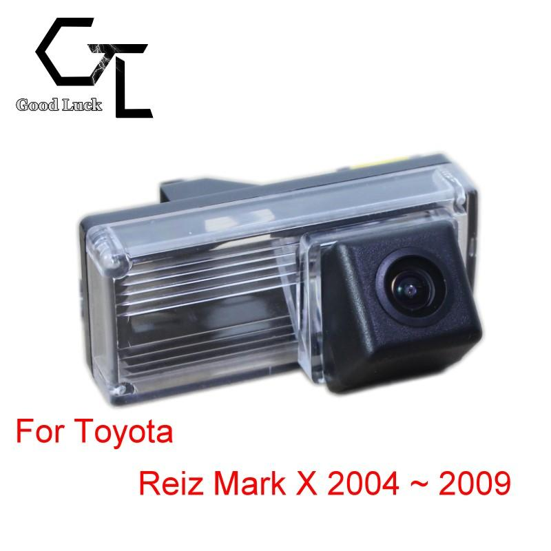 For Toyota Reiz Mark X 2004 ~ 2009 Wireless Car Auto Reverse Backup CCD HD Night Vision Rear View Camera