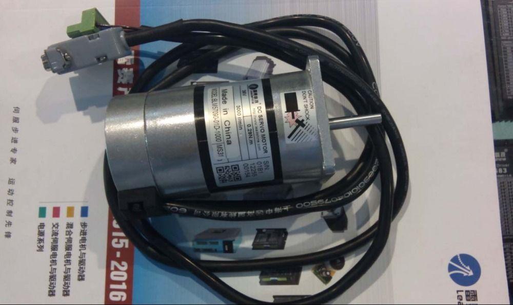 Der neue BLM-Servomotor BLM57090-01D-1000 von Leadshine arbeitet mit 36VDC und kann 3000RPM mit einem Drehmoment von 0,29NM und 90W bürstenlosem DC-Servomotor laufen lassen
