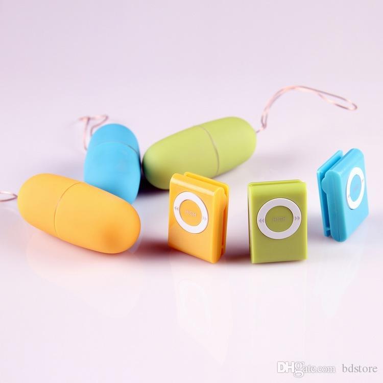 4pcs WirelessSexEx Femmes à distance Vibromator, 20 modes Contrôle des jouets sexuels distants (1set = 2pcs) Jouets Vibromator, pour adultes MP3 Adultes Sexu Eswxq