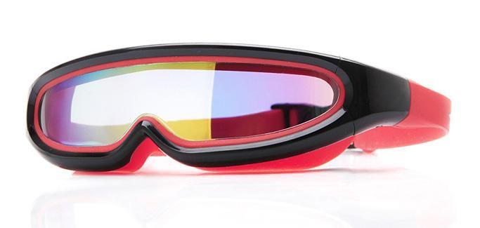 Los niños gafas de natación de una sola pieza anti-vaho con la caja dura, Snorkel Kids Mask gafas de buceo para Niños Niñas