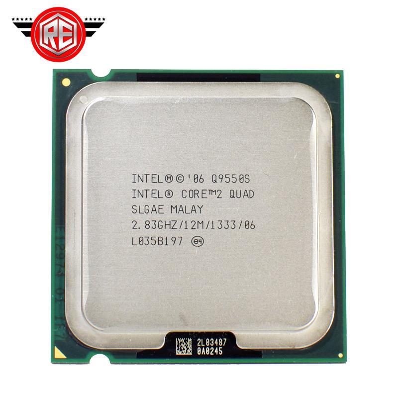 Intel Core 2 Quad Q9550S 2.83 GHz Quad-Core SLGAE Processor LGA775 65W CPU