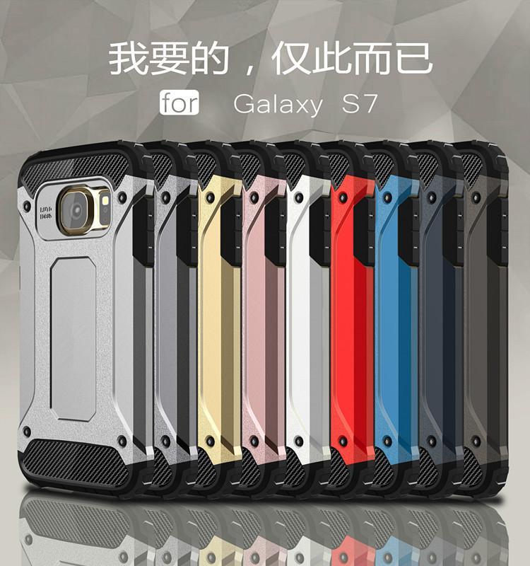 SGP Slim Armor cas de téléphone Hybrid Tough Case Heavy Duty Défenseur Couverture Arrière Protecteur Antichoc pour Galaxy J1 ACE J1 J2 J3 J5