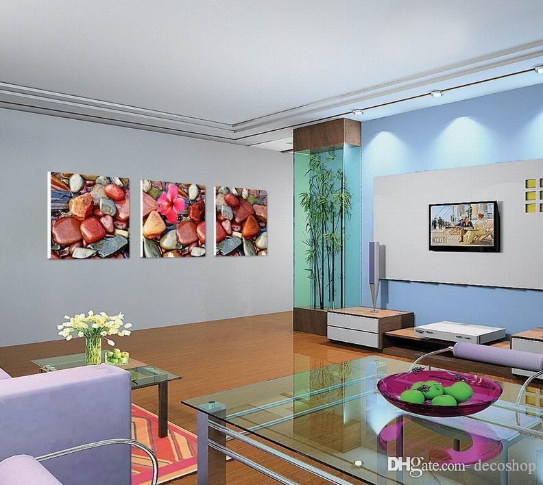 현대 아름 다운 풍경 자연 그림 Giclee 캔버스에 인쇄 홈 장식 벽 예술 Set30316