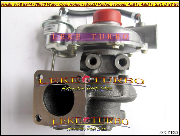 RHB5 VI58 8944739540 Water Cooled Turbine Turbo Turbocharger For ISUZU Trooper 4JB1T PIAZZA 4BD1T 2.8L D 1988-96 97HP (3)