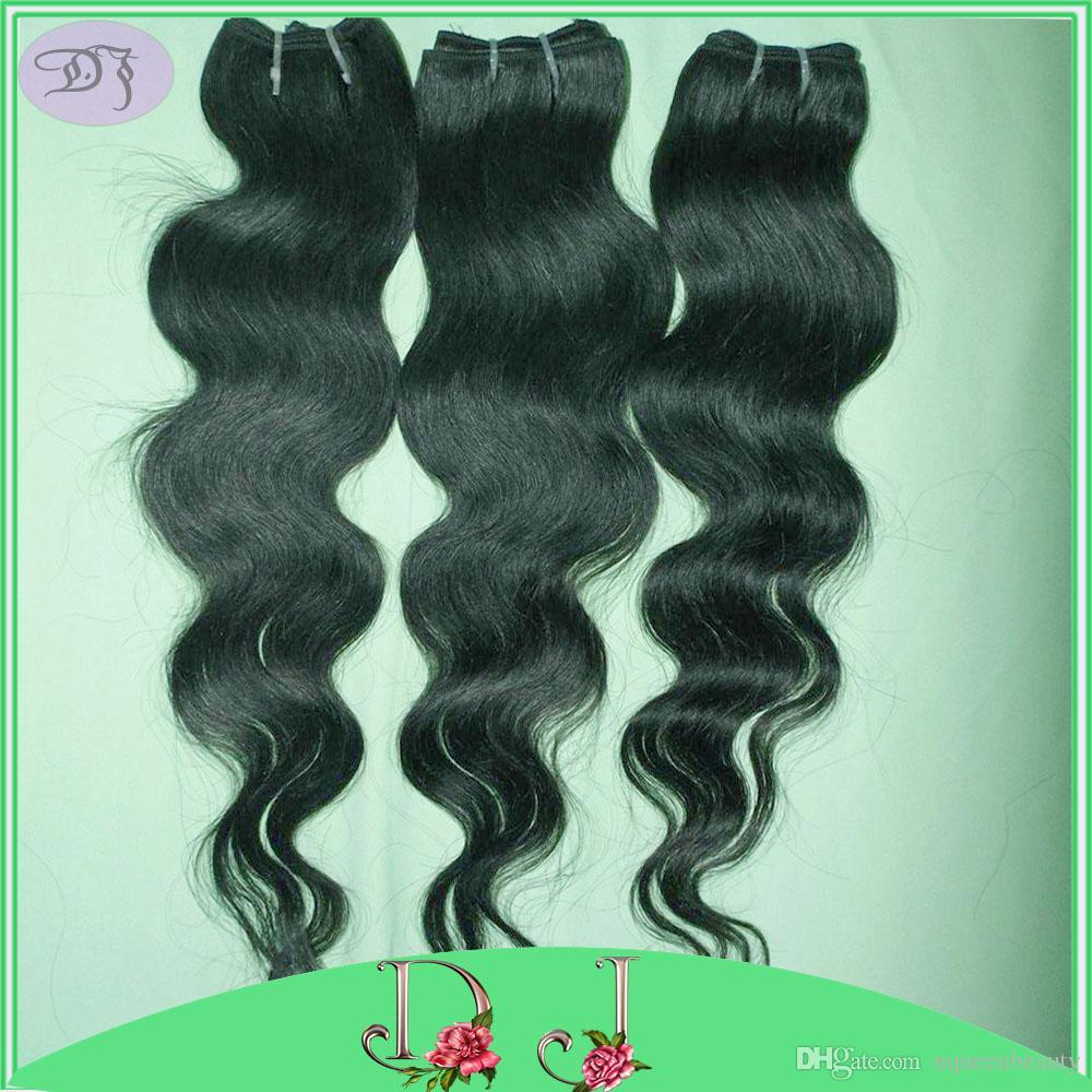 3 قطعة / الوحدة أسعار الجملة أرخص معالجتها البرازيلي الجسم موجة الشعر حزمة صفقات لينة جميل الشعر الظلام الأسود نسج