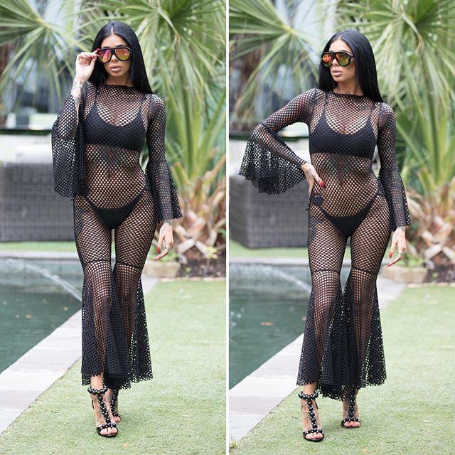Wholesale- K0104 2017 Seksi moda tasarım casual tulum tam kollu uzun tulum seksi kadın kulübü giymek