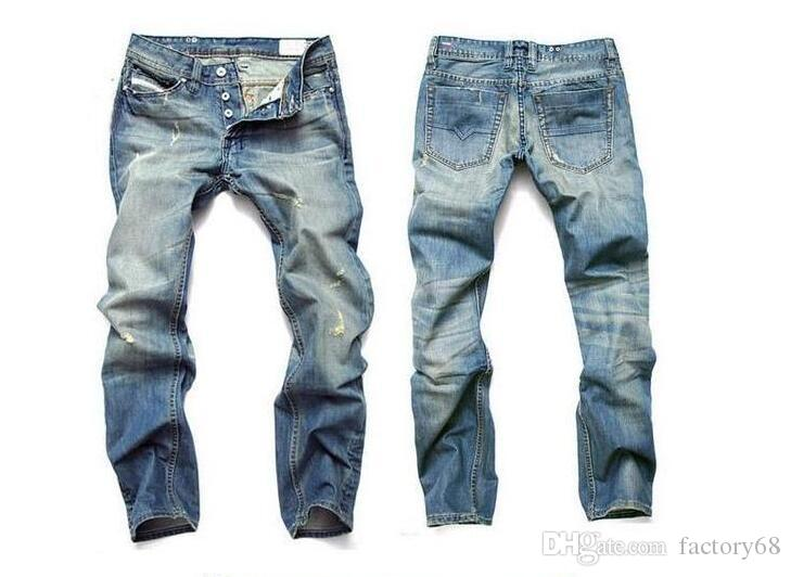 Grosses soldes ! 2016 Hommes Jeans Hommes Marque Célèbre Denim Jeans, coton Jeans Hommes, Grande Taille Desinger Jeans Hommes