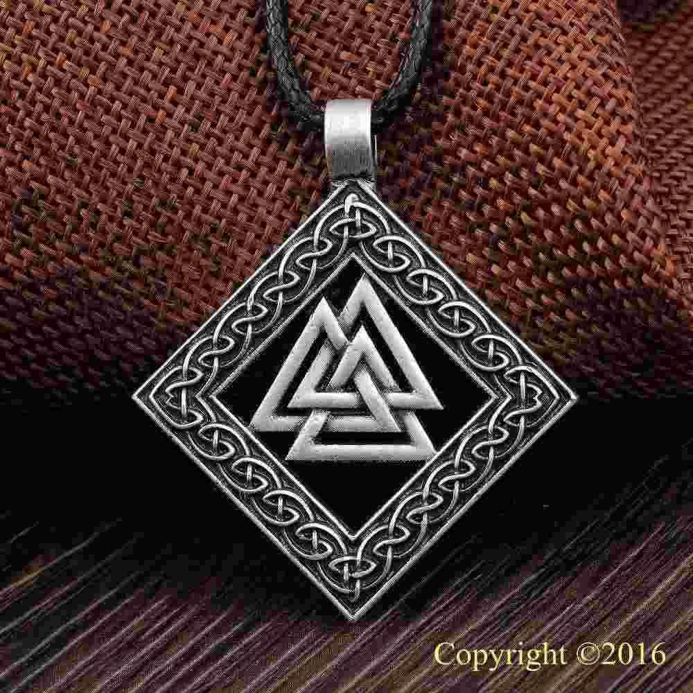Elder Futhark Rune kolye kolye INGWAZ Rune Yggdrasil Viking Muska PENDANT Runik Nordic Talisman kolye kolye sıcak satış serseri