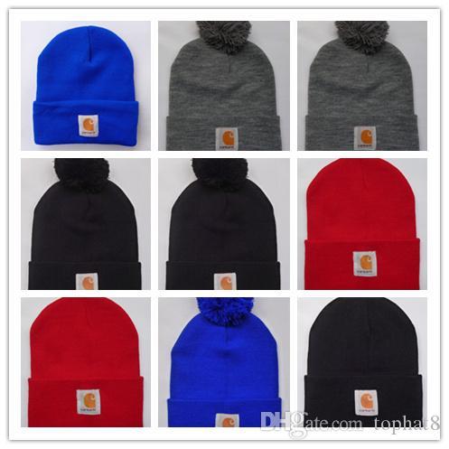 New Unisex Spring winter men fashion brand car Hart Women fashion knitted hat casual Hip Hop outdoor warm skull caps female gorros Beanies