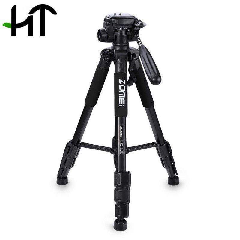 Zomei Q111 Professional Tripod Camera Accessories Photography Portable Aluminum Tripod W/ Bag For Digital SLR DSLR Camera