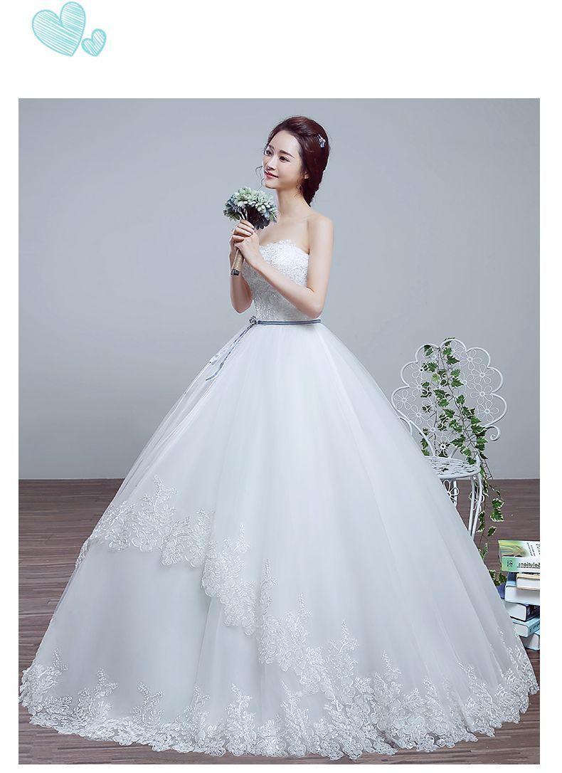 Wedding Dress 2016 New Spring And Summer Bride Princess Qi Korean ...