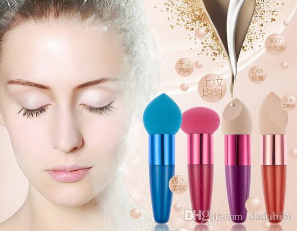 A NEW ARRIVAL HUAMIANLI WET AND DRY liquid foundation puff SPONGE PUFF LONG-LASTING EASY TO CLEAN FREE SHIPPING