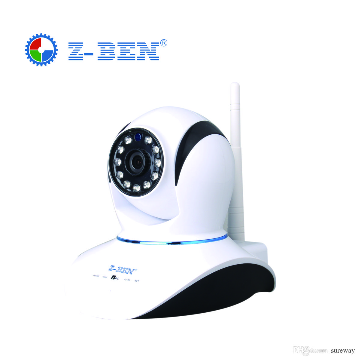 HD 720P كاميرا IP لاسلكية الأشعة تحت الحمراء للرؤية الليلية تسجيل الصوت شبكة الدوائر التلفزيونية المغلقة Onvif كاميرا IP داخلي