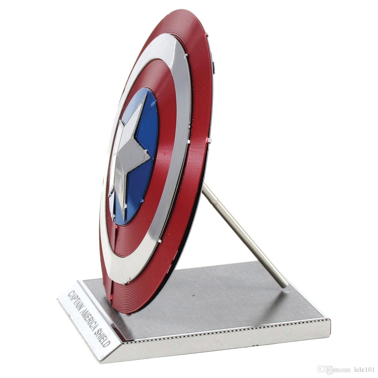 2021 Marvel Iron Man Mjolnir Captain Americas Shield War Machine 3d Metal Model Nano Puzzles New Styles Chinses Metal Earth From Lele101 4 87 Dhgate Com