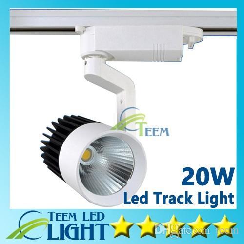 CE RoHS LED lumières En Gros Au Détail 20W COB Led Piste Lumière Murale Applique Murale, Suivi Soptlight led AC 85-265V éclairage Livraison gratuite