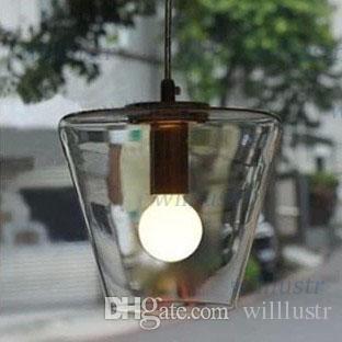 Edison Light Bulb FILAMENT PENDANT LIGHTING YC pendant lamp Modern Meridian Transparent Glass lamp