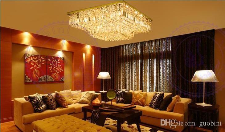 Kronleuchter Für Hohe Decken ~ Großhandel hohe qualität elegante k kristalldecke kronleuchter