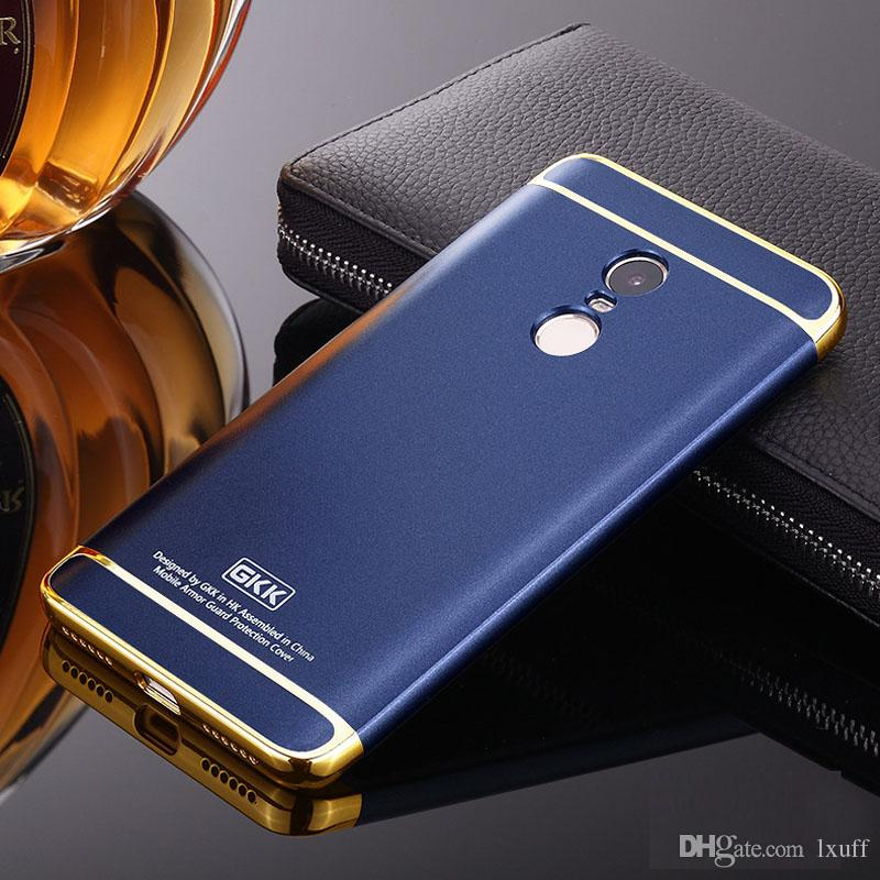 new style e1fd1 0568d For Xiaomi Redmi Note 4 Case Frosted Shockproof Hybrid 3in1 Rugged Slim PC  Matter Cover For Xiaomi Redmi Phone Fashion Cell Phone Cases Glitter Cell  ...