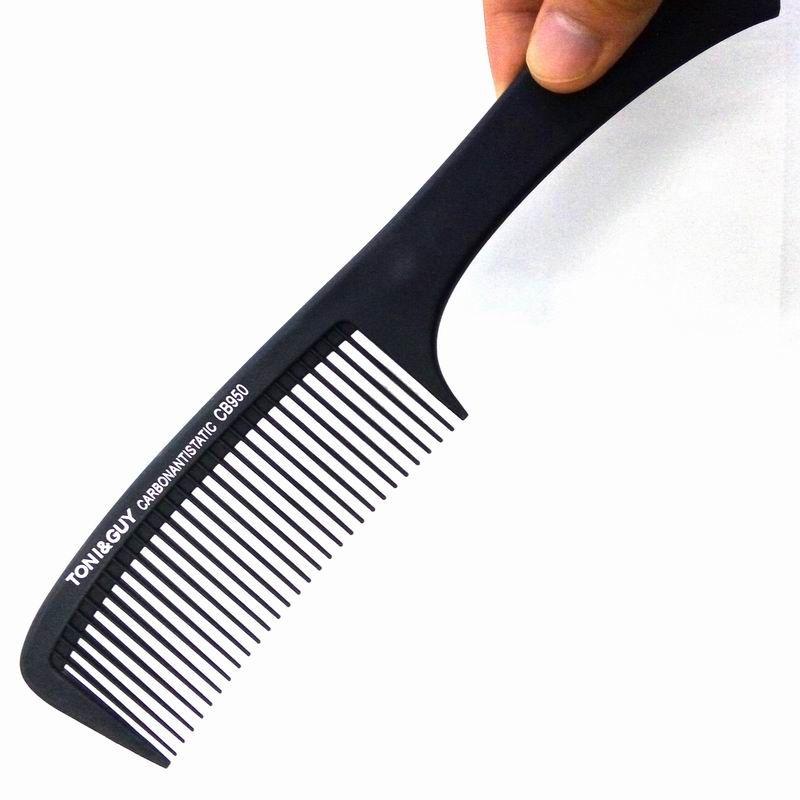 Carbon Hair Comb Types Barber Combs Heating Salon Hair Cutting Comb 9 Inch Plastic Comb Black Color 24piece per Lot