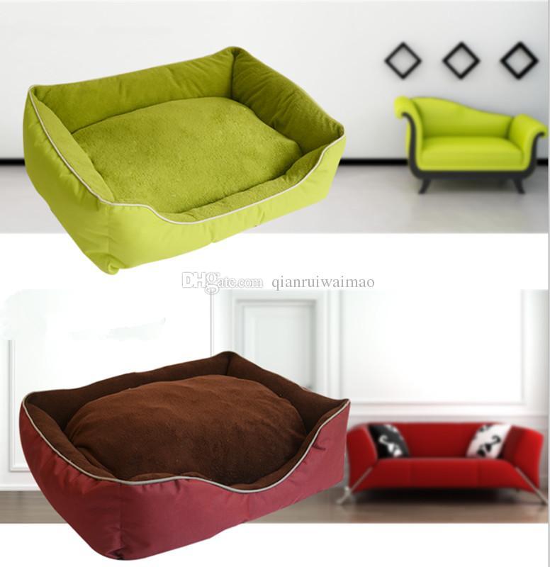 Pinco Premium köpek ve kedi yatak / salon ile ultra yumuşak taraf, çıkarılabilir yıkanabilir kapak, küçük köpekler ve kediler için mükemmel
