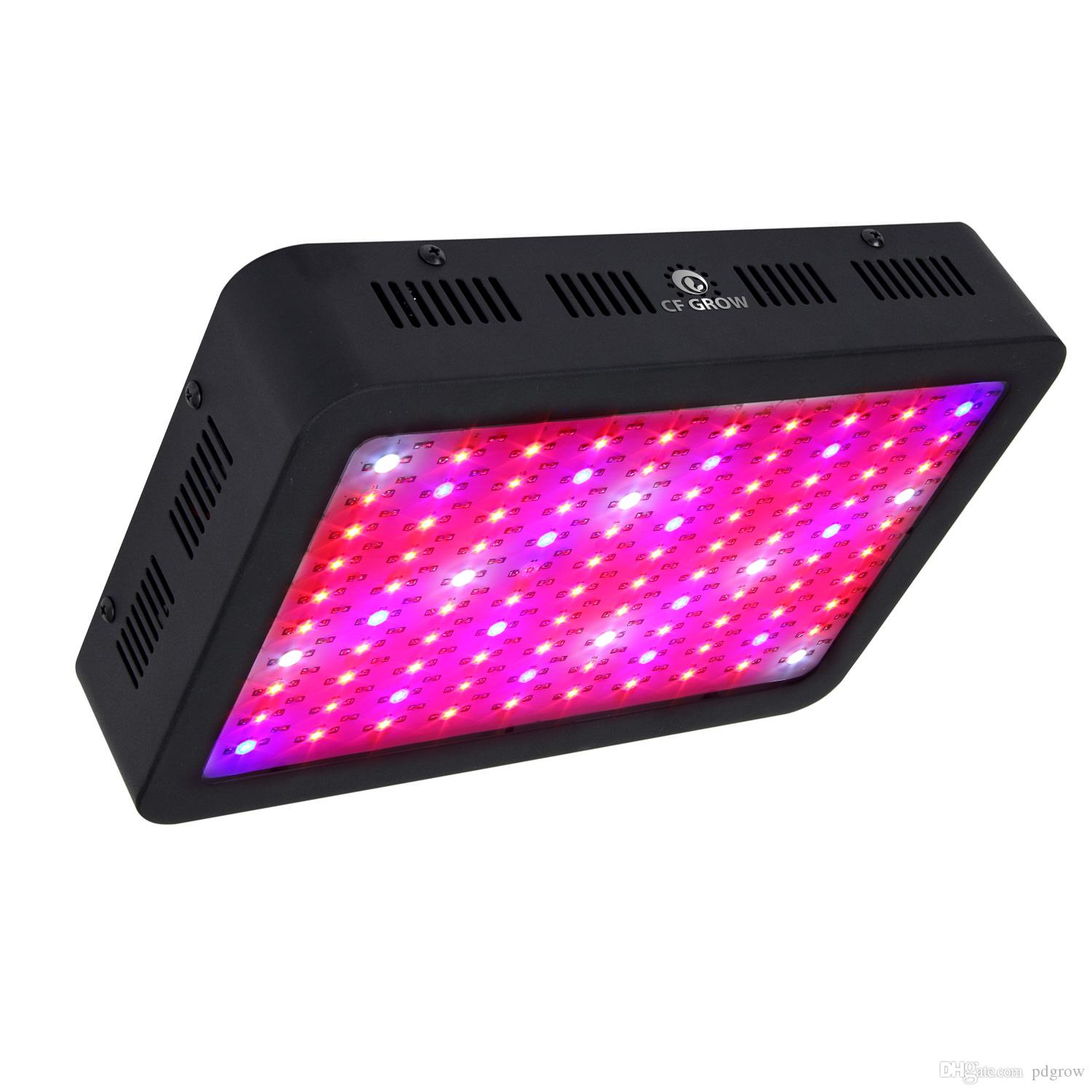 Full Spectrum LED Plant Grow Light 45W 200W 600W 1000W Greenhouse Grow Glasses