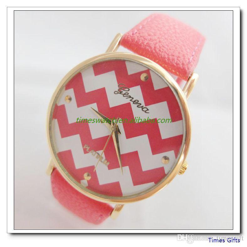 Новый Женева часы женская мода кварцевые часы кожа молодые спортивные женщины золотые часы повседневная платье наручные часы relogios feminino