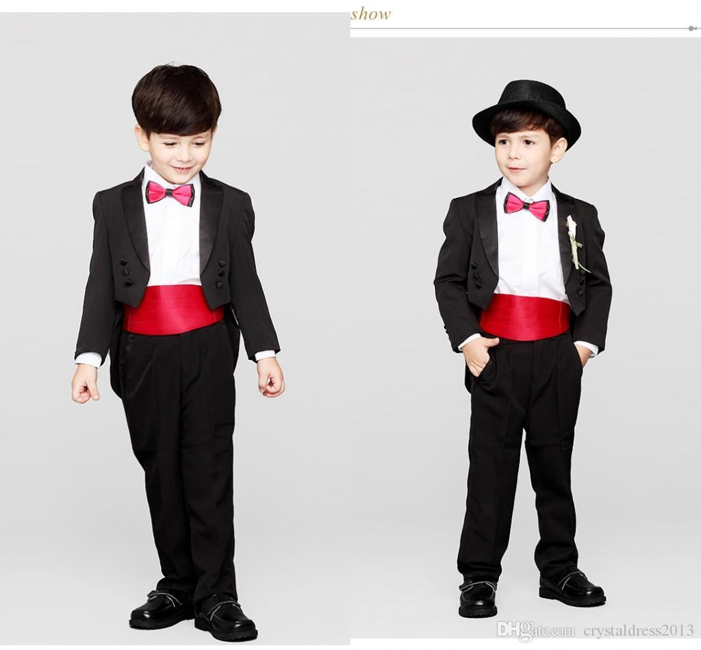 Modest Flower Boys Suits For Weddings 2015 Boy\'s Formal Occasion ...