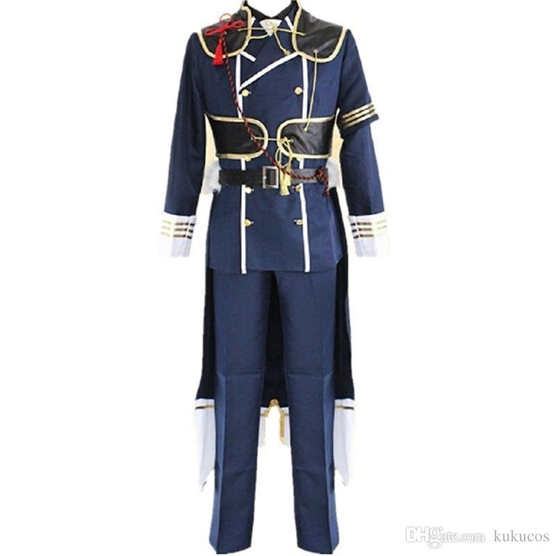 Kucucos Unisex The Sword Dance Touken Ranbu Online Cosplay Costume Halloween Party Suit