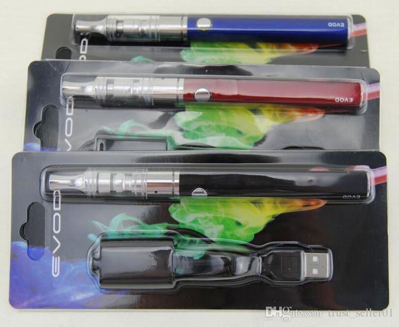 Горячая Ecig eGo EVOD K3 сухой травы испаритель блистер K3 стеклянный распылитель бак Vape pen EVOD 650mah 900mah 1100mah батареи стартовые комплекты