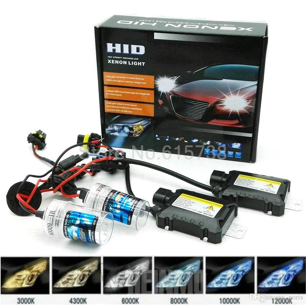 Yeni Bir Kiti HID Kiti balast xenon ampul su geçirmez İnce balastlar 12 V 35 W h1 h3 h7 h6 h6m far motosiklet araba