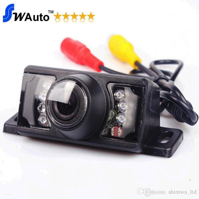 7 IR LED Night Vision Car Retrovisore retrovisore per auto HD 140 Obiettivo angolare impermeabile (Monitor opzionale / Specchietto retrovisore)