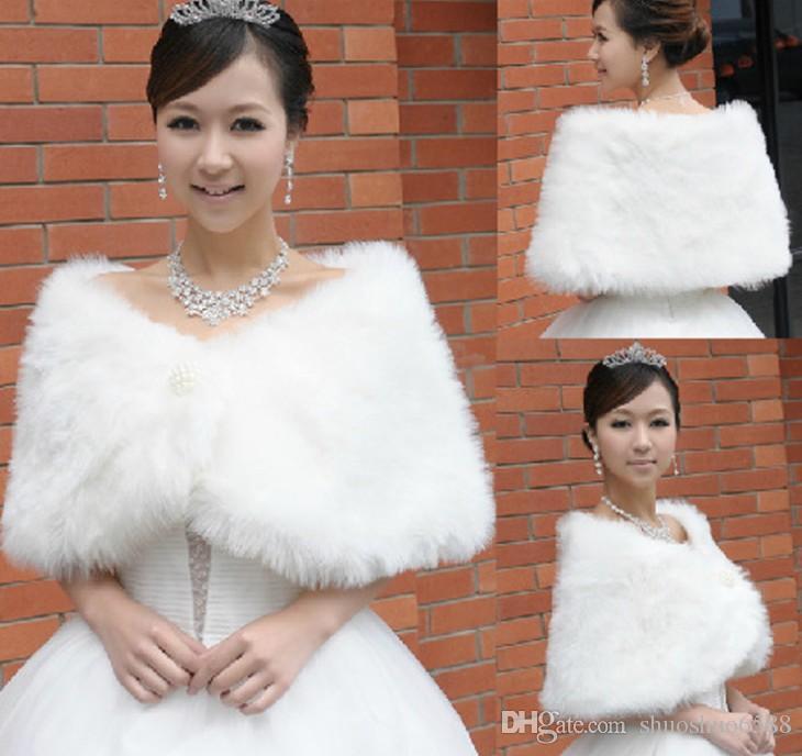 Weiche Schals der neuen Art des freien Verschiffens nachgemachten Imitatpelzschalart und weisediamantschnalle Brautverpackungsjacken, die Zusätze shuoshuo6588 wedding sind