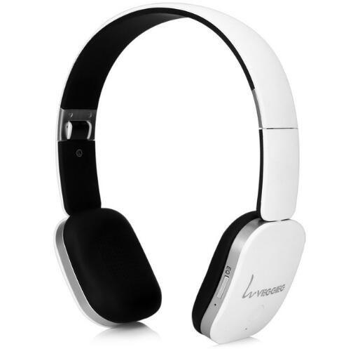 VEGGIEG V6800N Foldable Bluetooth V4.0 + EDR Hands Free Wireless Headset MP3 Music Bluetooth Headphone with Mic and Micro USB
