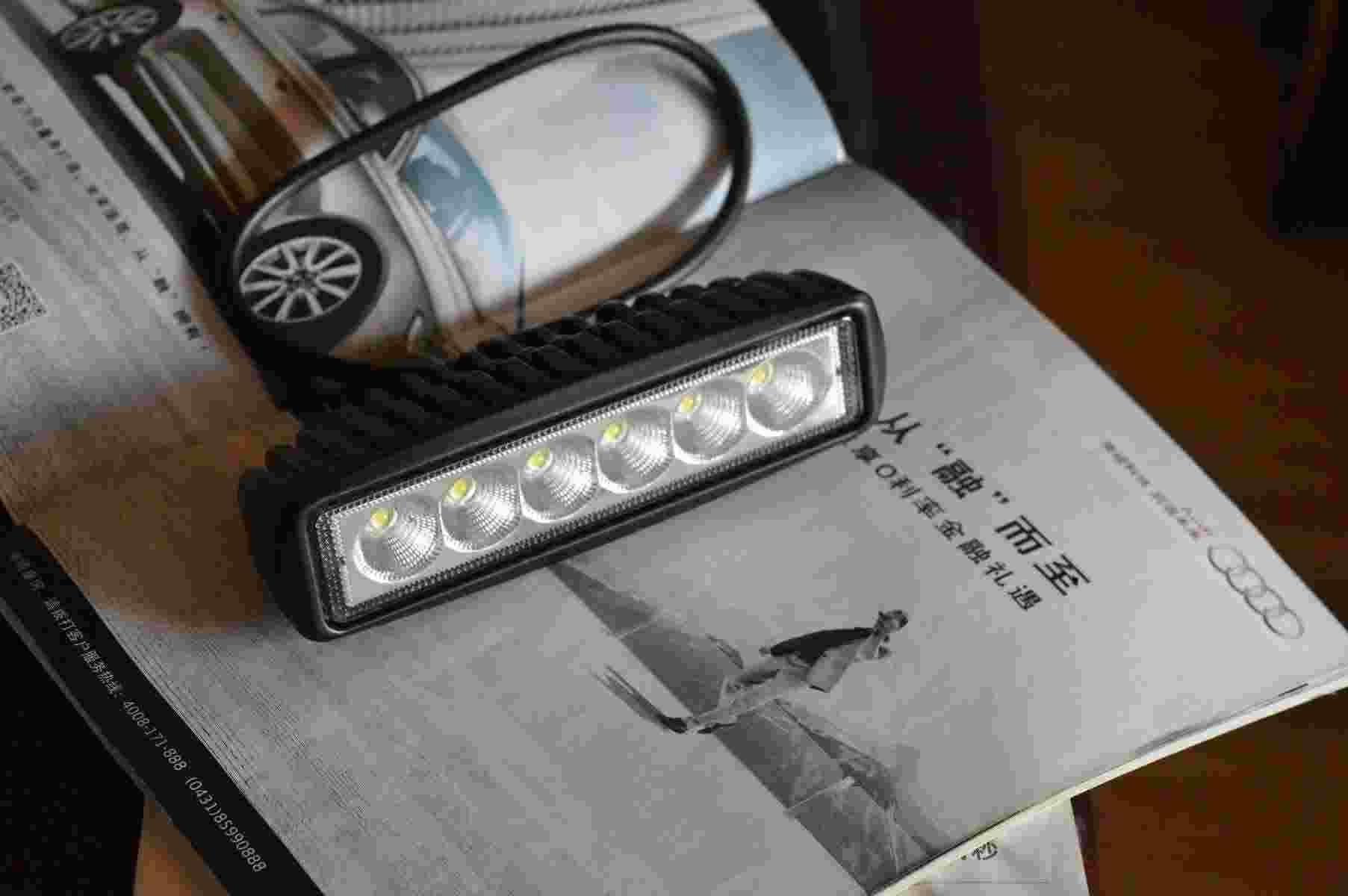 Hot Sale Led Flood Light Led Work Light 12v Led Cree Bar Marine Light 18w White Color Car Light 12v Dc Motorcycle Light Led Work Light Uk Led Work Lighting From Arjunxu