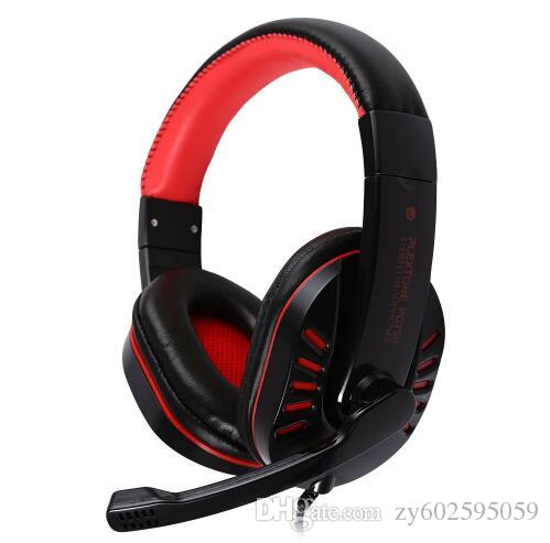 Plextone PC750 High Quality Computer Game Gaming Stereo Bass Headphone Headset Earphone With Mic Microphone For Computer Gamer