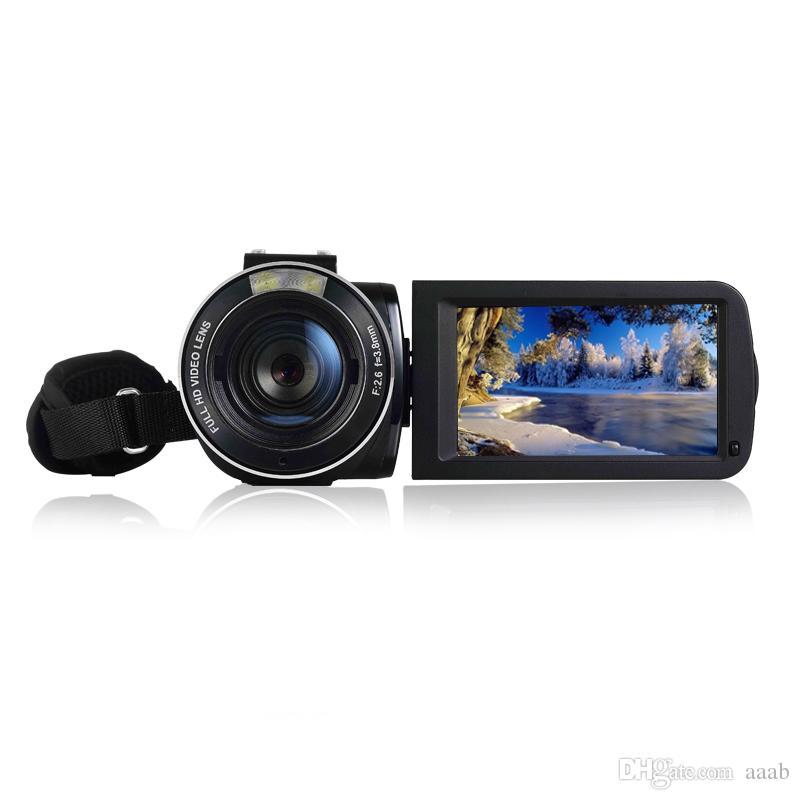 "Nuova Videocamera professionale HDV-Z20 3.0"" Touch Record completo Cam HD Digital Video Camcorder WIFI FaceSmile Detection"