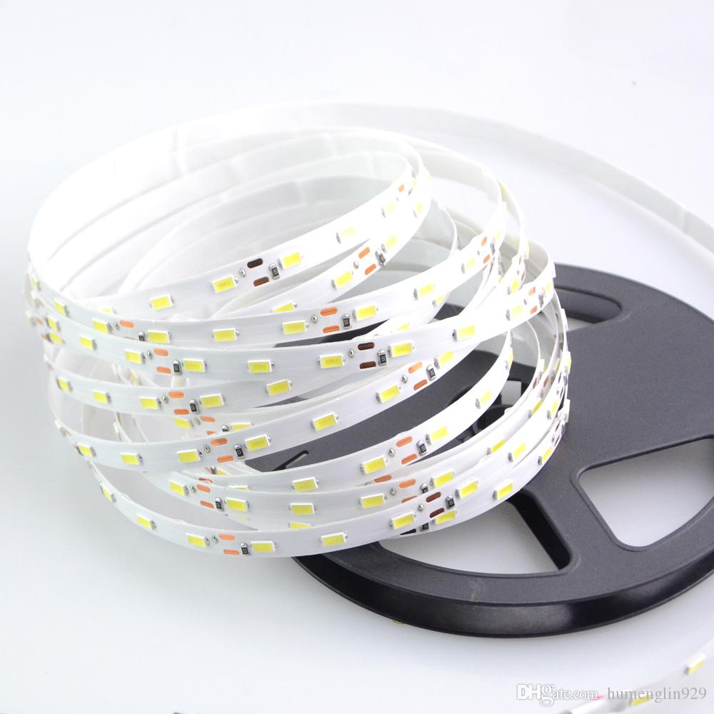 White / Warm White LED Strip light 5630 DC12V 5M 300led flexible bar ...