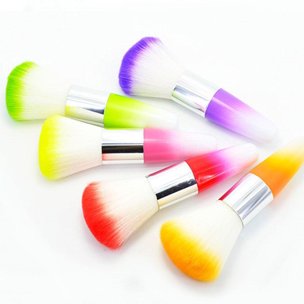 Farbnagelkunst-Staubreiniger-Bürsten-Werkzeug für Acryl-UVgel-Pulver-Entferner Kit # R48