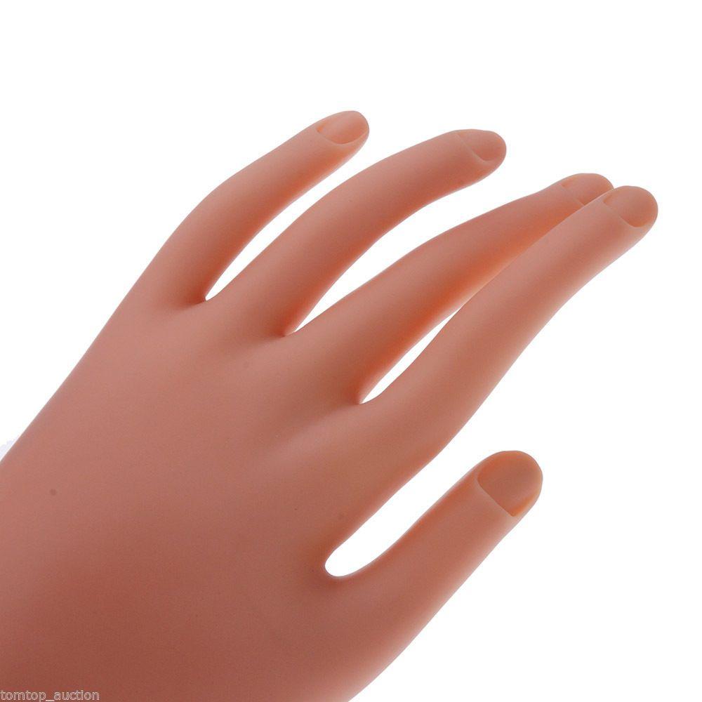 Practice Diy Nail Training Manicure Tools.Nail Art Model Hand ...