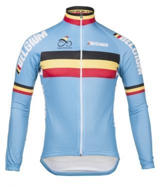 2021 Bioracer 벨기에 겨울 양털 열 사이클링 저지 / 겨울 자전거 의류 / Ciclismo Maillot MTB P8