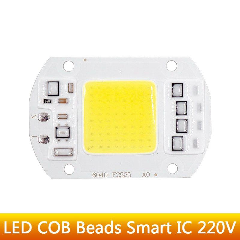 High Power Epistar Flood Light LED COB Chip Bulb Bead Warm//Cool White 110V 220V