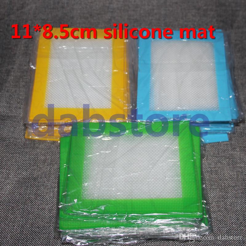 heiße verkaufensilikonmatte 14 * 11.5cm, Antihaftsilikonauflage tupfen Wachsölmatte freies Verschiffen