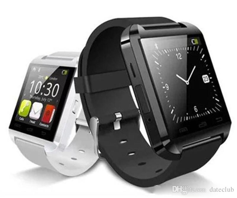 U8 Smart Watch Bluetooth Phone Mate Smartwatch Perfect for Android for 4S/5/5S for S4/S5/Note 2/Note4 DHL Free Shipping