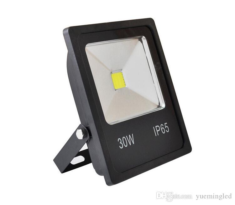 سامسونج الصمام ضوء الفيضانات 30W 50W أسود قذيفة AC85-265V للماء IP65 الأضواء الكاشفة الإضاءة في الهواء الطلق