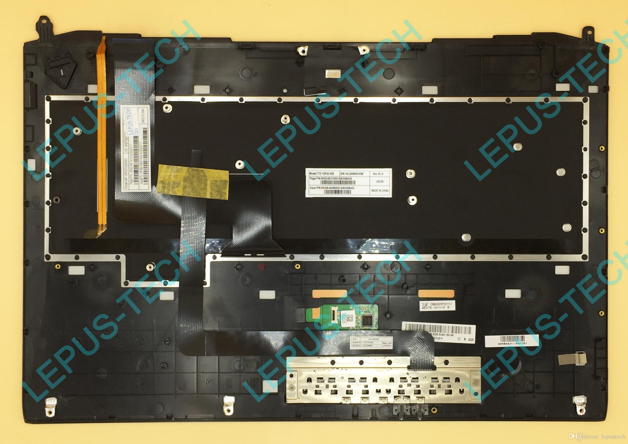 New UK keyboard for Asus G750JZ G750JH G750JW G750JM G750JS backlit+Palmrest